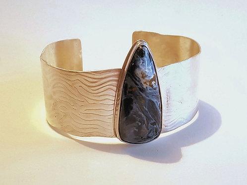 Pietersite Textured Cuff