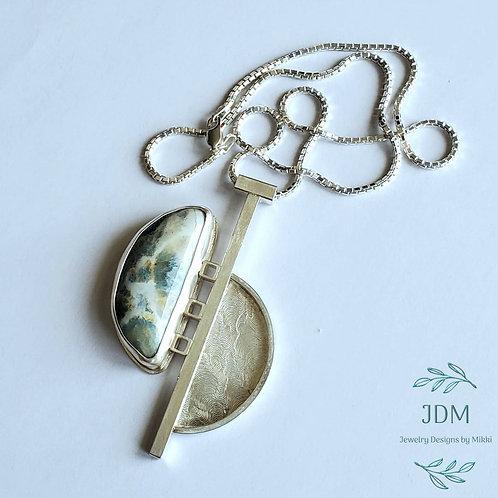 Lapis Lace Onyx Necklace