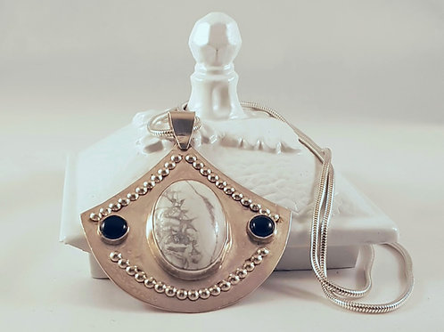 Howlite & Onyx Necklace