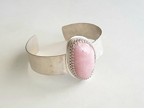 Peruvian Pink Opal Cuff