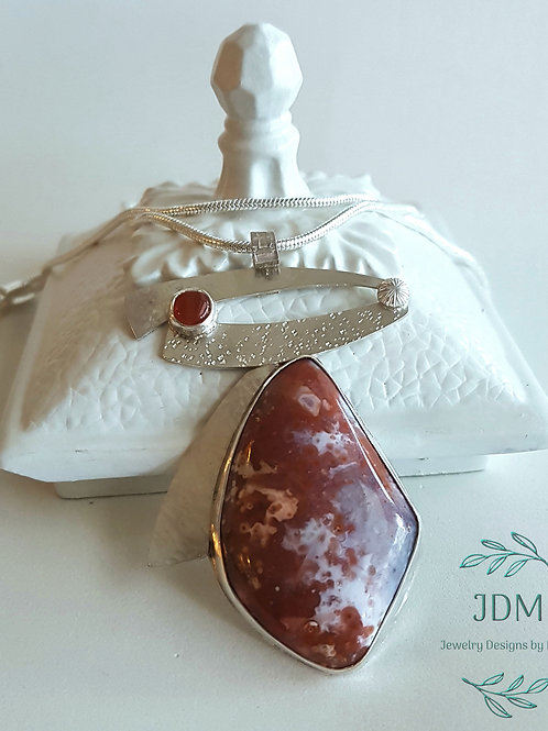 Berber Agate & Carnelian Necklace