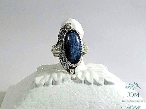 Kyanite Freeform Ring