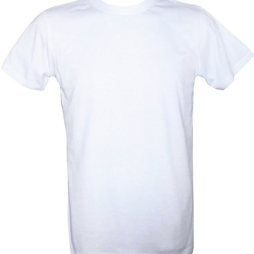 White Soft Cotton T-Shirt