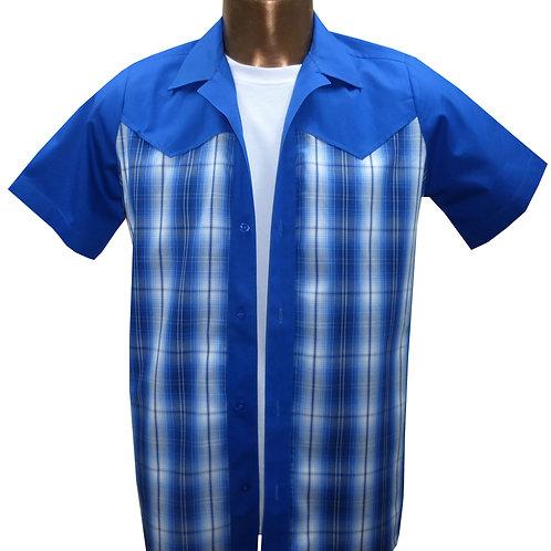 1950s/1960s Western Stlye, Rockabilly, Retro, Vintage Men's Shirt