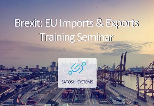 Eventbrite// Brexit: EU Imports& Exports Training