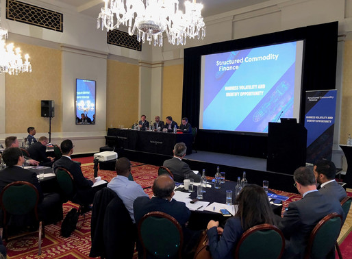 Tech Panel at Structured Commodity Finance conference 2019