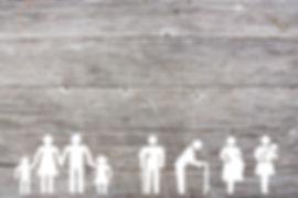Social welfare concept on wooden backgro