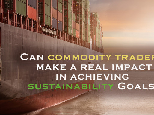 Can commodity traders make a real impact in achieving sustainability goals?