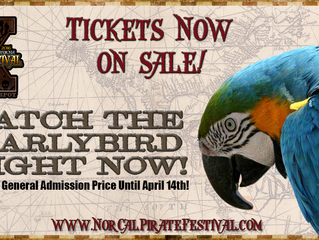 Early Bird Tickets Now onsale!