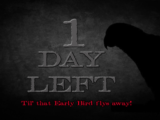 Only One Day Remains!