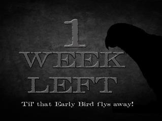One week left!