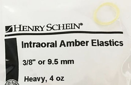 9.5 mm elastics