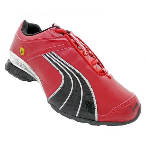 switzerland tênis puma ferrari cell deka vermelho e preto 89e65 0332c bdbbcef63e09d