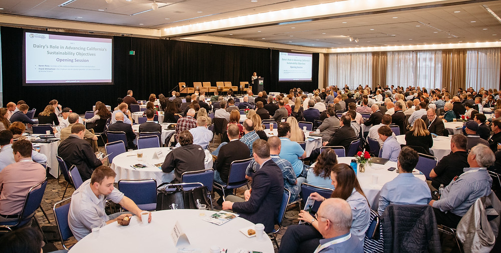 The California Dairy Sustainability Summit brings together dairy farmers, policy makers, state officials, researchers, technology and service providers, industry leaders, and other key stakeholders to discuss sustainability challenges.
