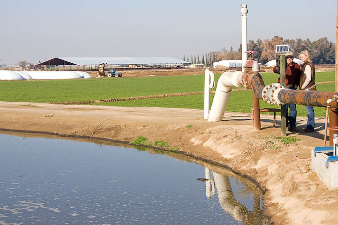 California dairy farms protect water quality