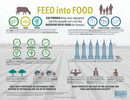 California dairy farms make efficient use of natural resources