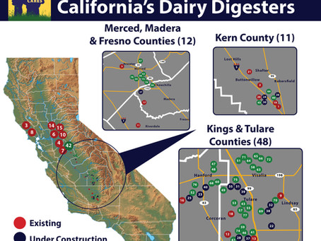 California doubles down on climate-smart dairy