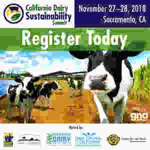 Register today for the California Dairy Sustainability Summit.: www.CADairySummit.com