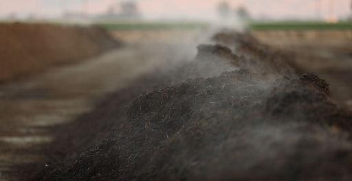 California dairy farmer with methane digester