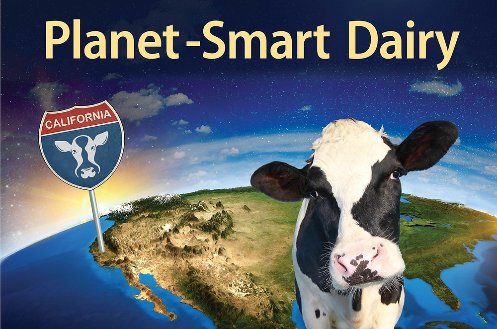 California leads the world in planet-smart dairy.