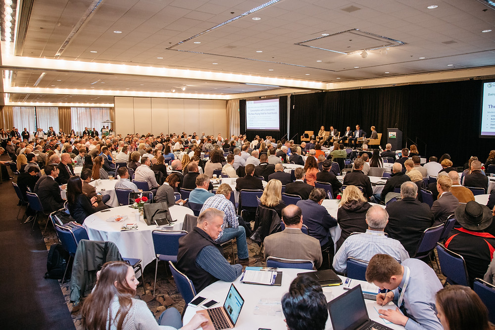 Attendees at California Dairy Sustainability Summit