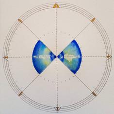 Multibeam Compass Rose #4