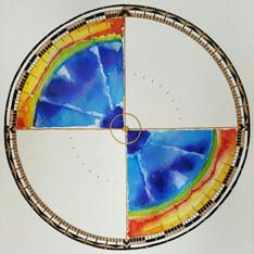 Multibeam Compass Rose #6