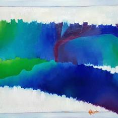 Bathymetry in Blue Tones #3