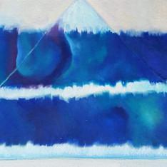 Bathymetry in Blue Tones #1
