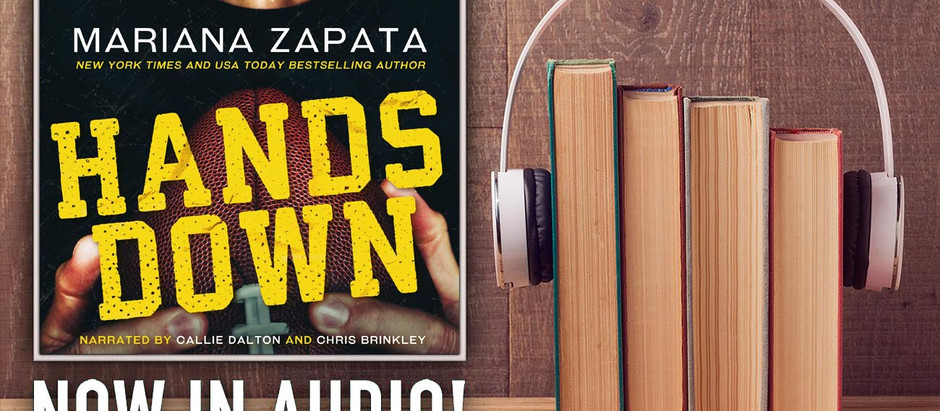 The HANDS DOWN Audio is Live!