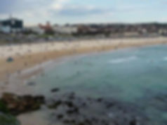 Famous Bondi Beach of Sydney