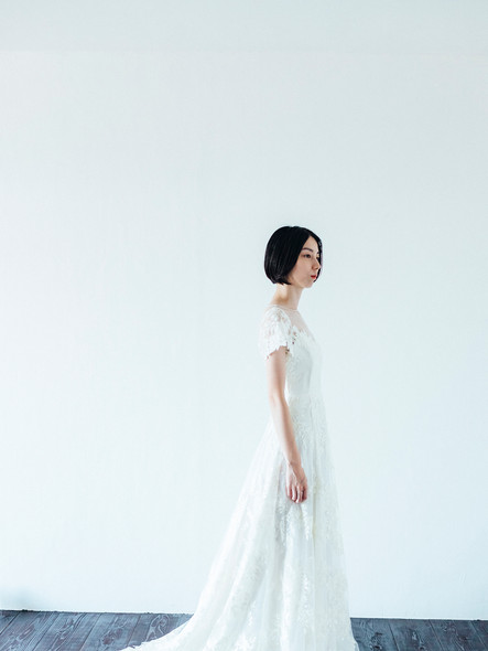 PR_ embroidery+yokoburi dress