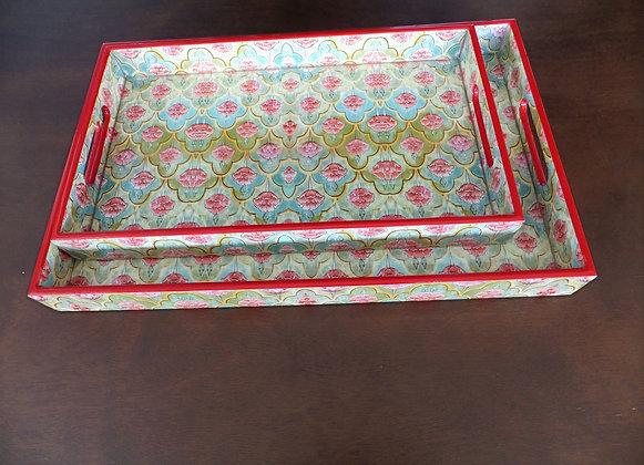 Mughal Flower Tray