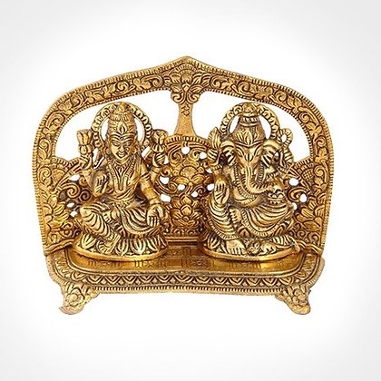 Metal Lakshmi Ganesh