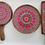 Thumbnail: Mandala art platter set