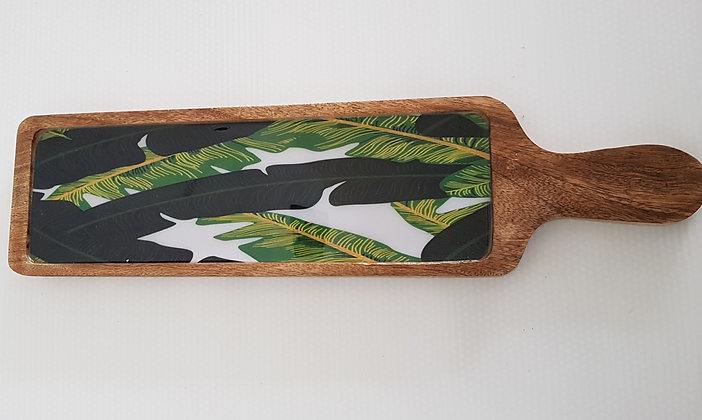 Banana Leaf Long Platter