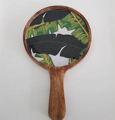 Banana Leaf Round platter