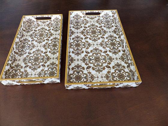 Golden Royal Demasek Tray