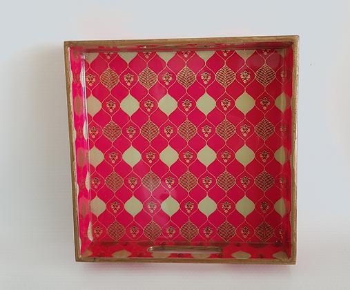 Pink diamond tray (Gold Foil)