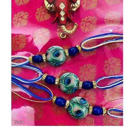 Elegant Peacock design rakhi