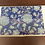 Thumbnail: Wooden Elegant Blue floral Placemats 6 pc set