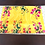 Thumbnail: Wooden Multi floral Placemats and Trivets set