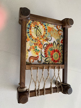 Sunflower art Khatiya and belan platter set