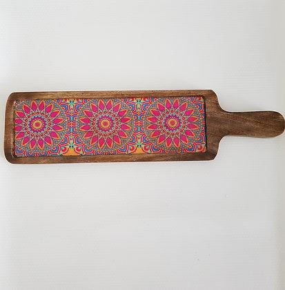 Mandala art Long Platter