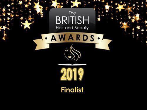 We have been shortlisted as finalists in The British Hair & Beauty Awards 2019