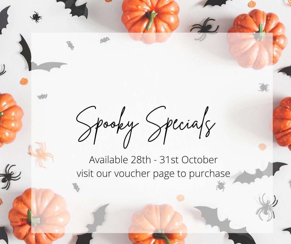 Spooky Specials Beautylicious