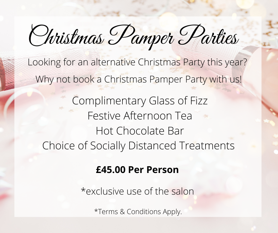 Christmas Pamper Parties at Beautyliciou
