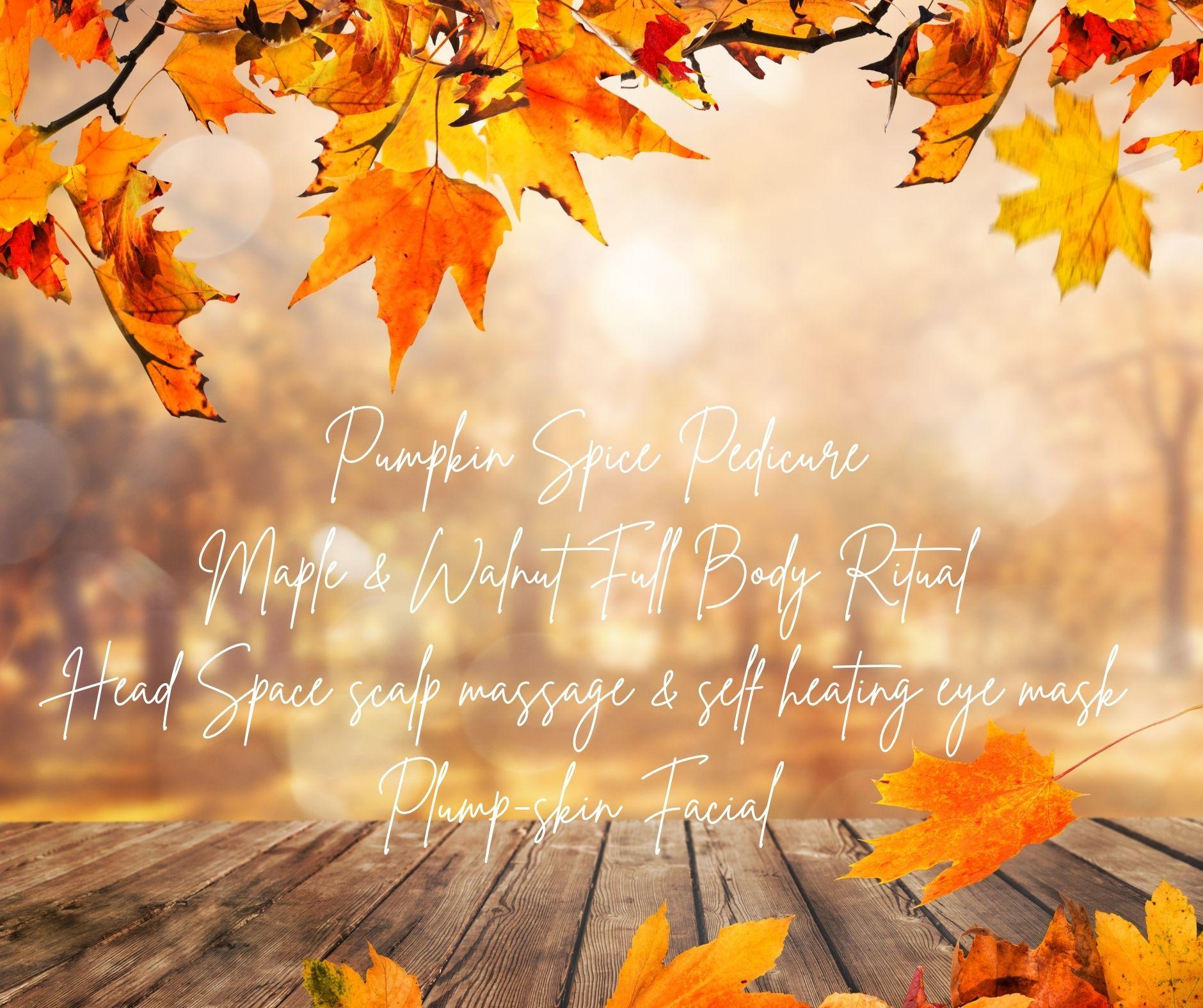 Autumn Treatments Beautylcious