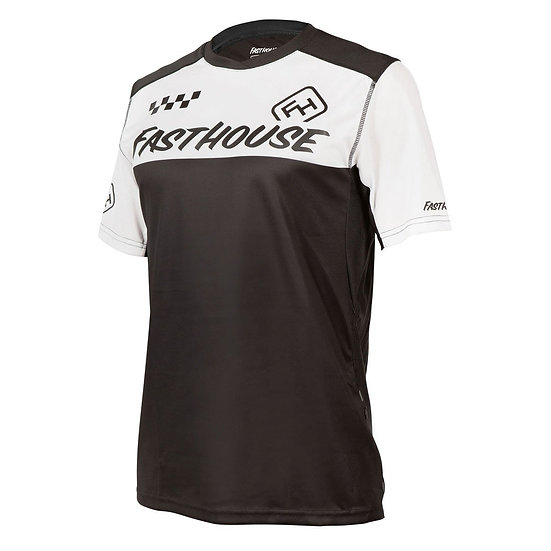 Fasthouse Alloy Block SS Jersey - White/Black