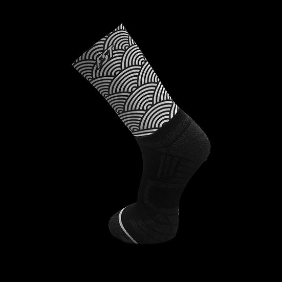 Seigaiha FST Aero Socks